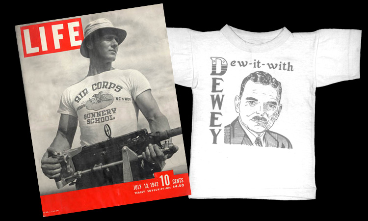 Primeras camisetas serigrafiadas