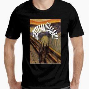 Camiseta Estefanía El Grito