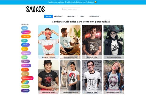 Web saukos.com
