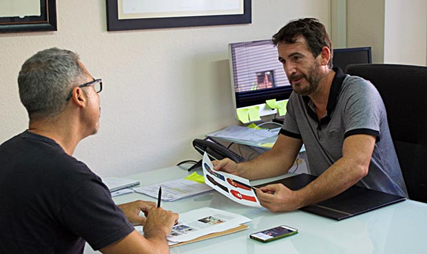 Guillermo nos cuenta cómo se puede registrar un diseño