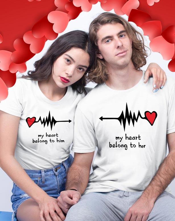 Camisetas para novios