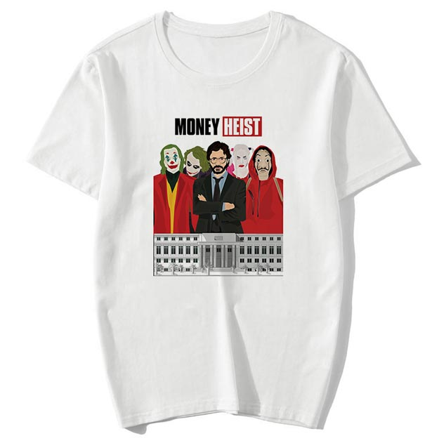 Camiseta Money Heist