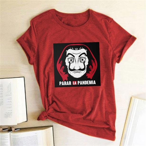 Camiseta parar la pandemia