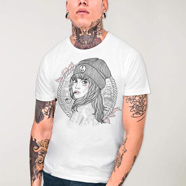 Camiseta Woman Captain