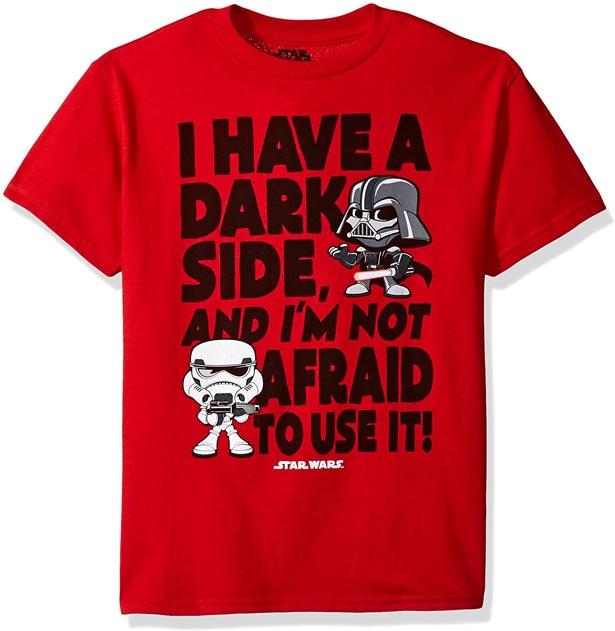 Camiseta tengo un lado oscuro…