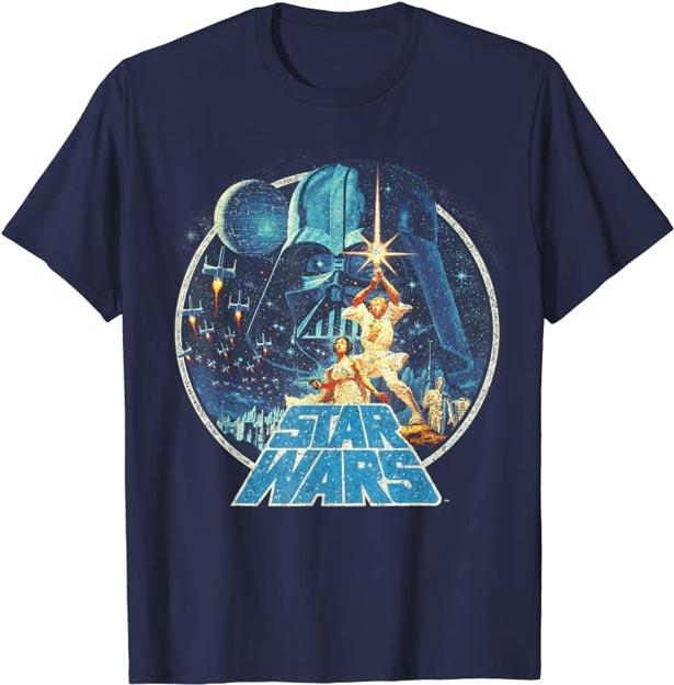 Camiseta vintage Star Wars