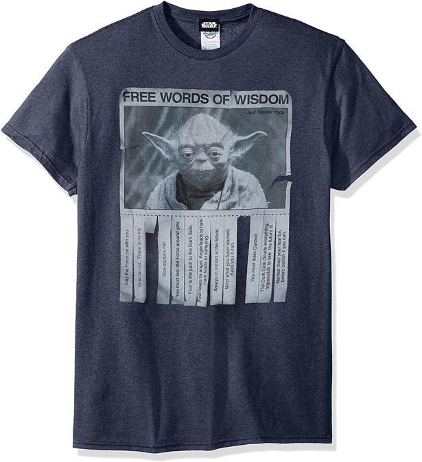 Camiseta Yoda chico